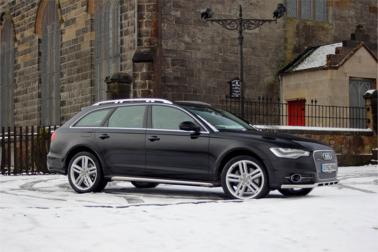 05 dec audi a6 allroad quattro scotland s motor rally magazine