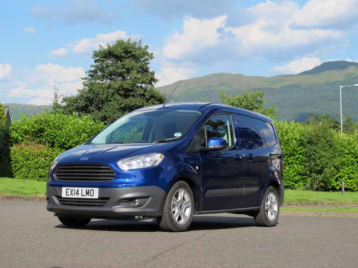 2014 Ford Transit Courier Ford Cars   Autos Weblog