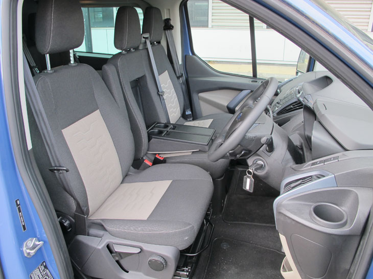 21 Aug Ford Transit Custom